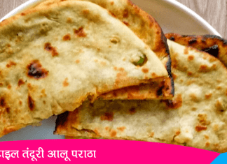Tandoori Aloo Paratha Recipe