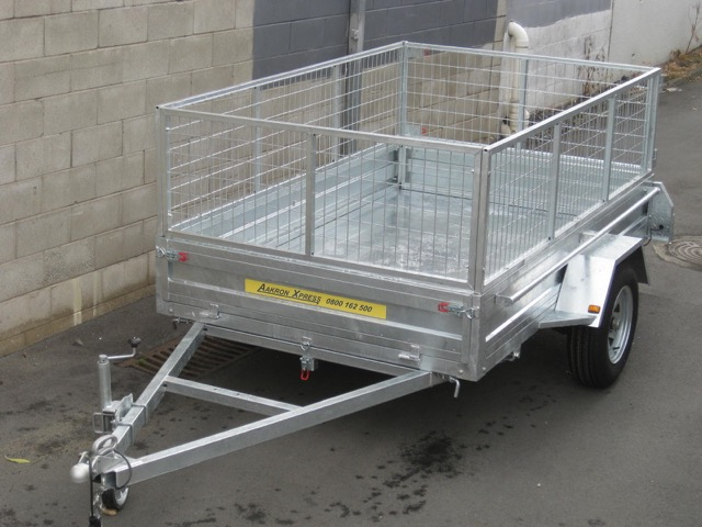 Single Axle Car Trailer for Sale