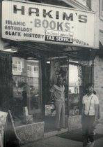 Hakim's Bookstore - Currently in jeopardy of closing (photo circa 1970s by Yvonne Blake)