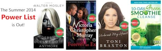 Power List Best Selling Books — Summer 2014