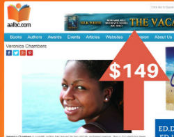 Place a horizontal ad banner on AALBC.com