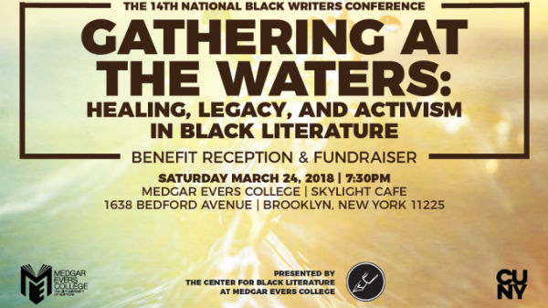 2018 Benefit Reception for the 14th National Black Writers Conference – Gathering at the Waters