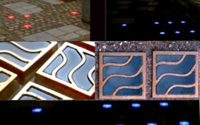 Lys bronzebrosten til Dubai