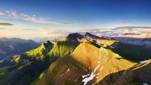 عاصمة جبال الألب