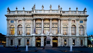 المعالم السياحية في مدينة تورينو قصر ماداما