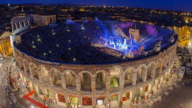المعالم السياحية في مدينة فيرونا مسرح أرينا الروماني