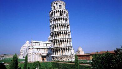 المعالم السياحية في بيزا برج بيزا المائل