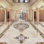 Grand Foyer Marble Mosaic Floor 901x1050 Aalto Marble Inlay
