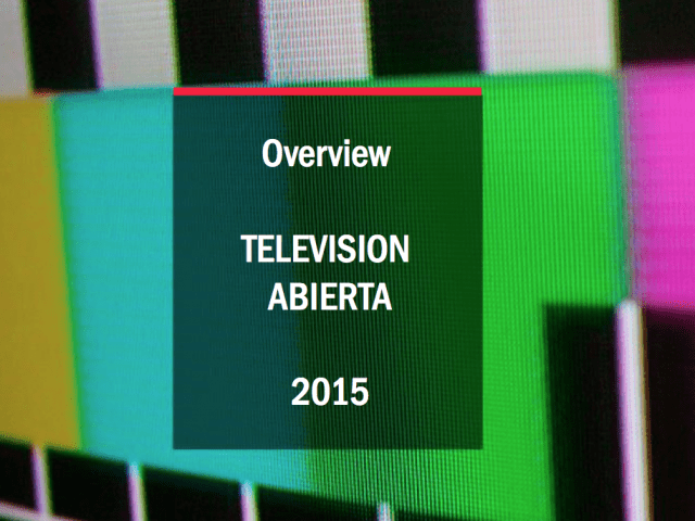 Overview TV 2015 Chile