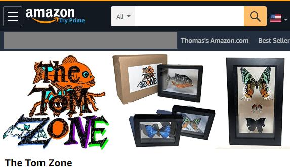 The Tom Zone Amazon Store