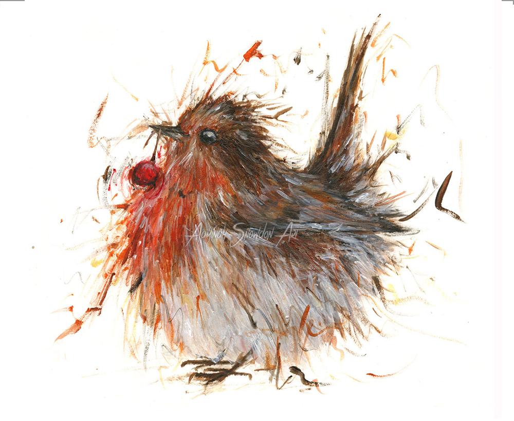A Minute On The Beak Aaminah Snowdon Art
