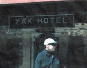 John at the Yak Hotel in Nepal