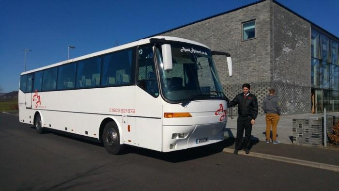 brighton coach hire with driver