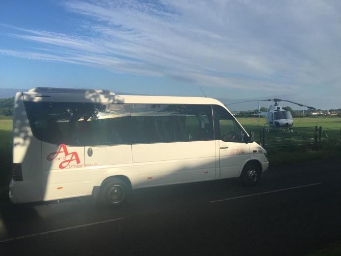 16 Seater Exec minibus Hire