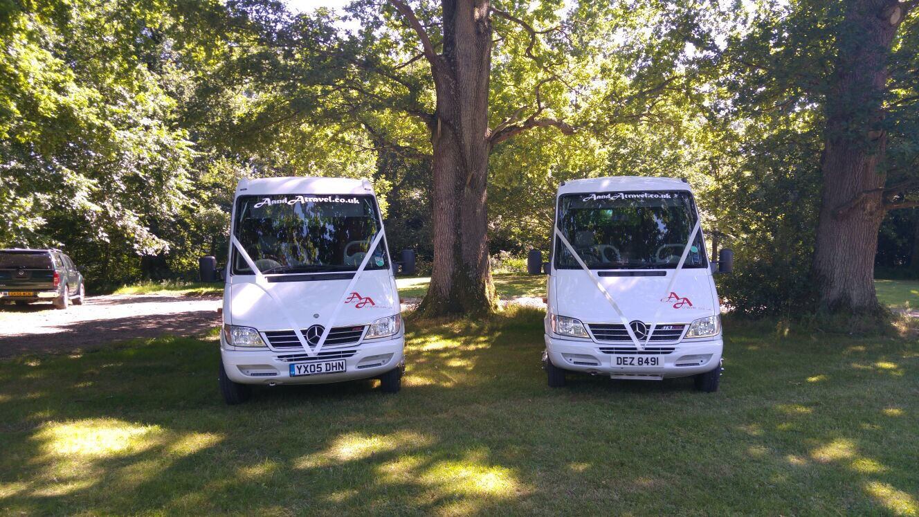 Hire a coach for weddings sussex