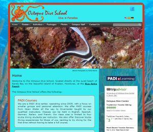 pus Dive School - New Site