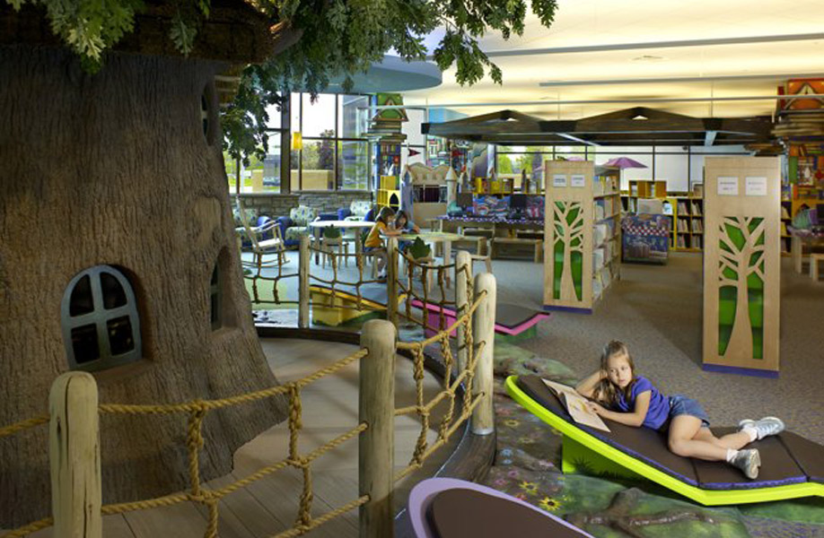 AampES Public Library Childrens Themed Environment Is In