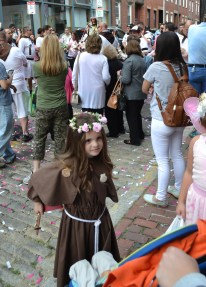 The Feast Day of Santa Rosalia, a Little Santa Rosalia