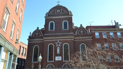 Sacred Heart Church, North Square