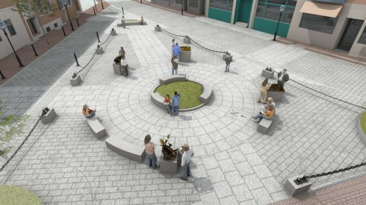North Square Public Art Rendering