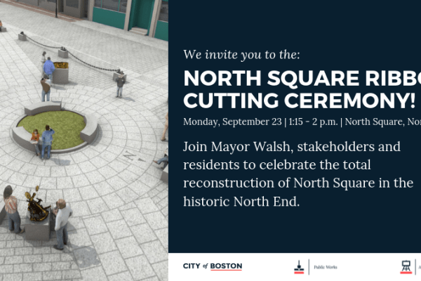 North Square Dedication Ceremony