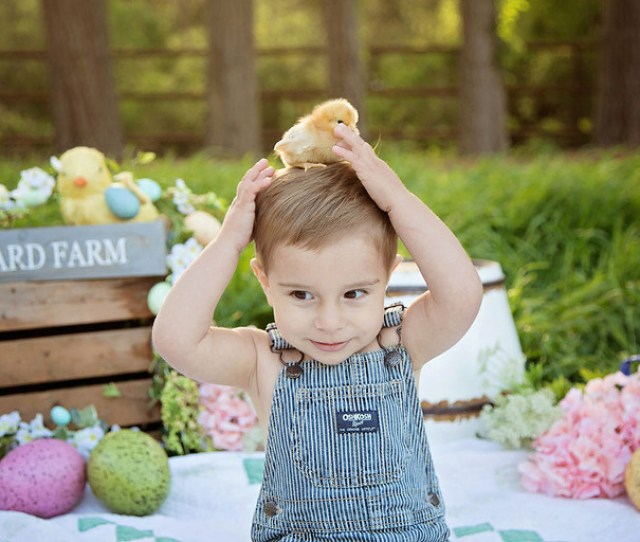 Cute Easter Picture Ideas Child Photography Central Coast
