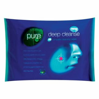 pure deep cleanse wipes