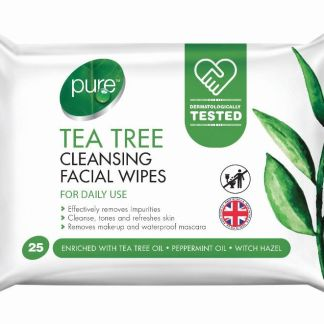 pure tea tree wipes