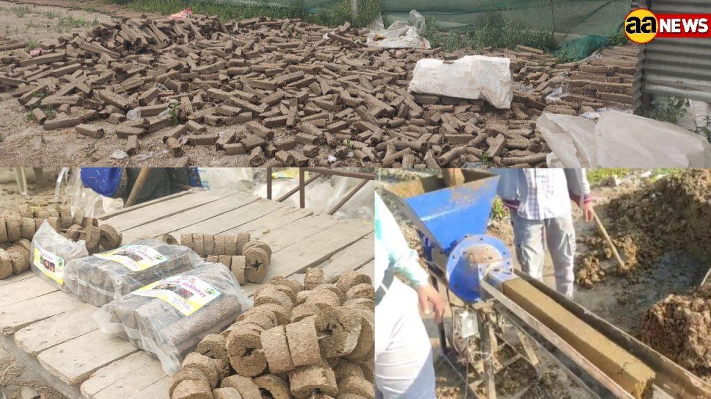 होलिका दहन में पेड़ों की लकड़ी की जगह गऊ कास्ट का होगा प्रयोग , गाय के गोबर से तैयार की जाती है ये लकड़ियां
