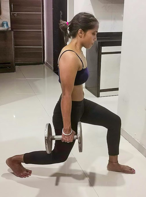 weight lifting in yoga