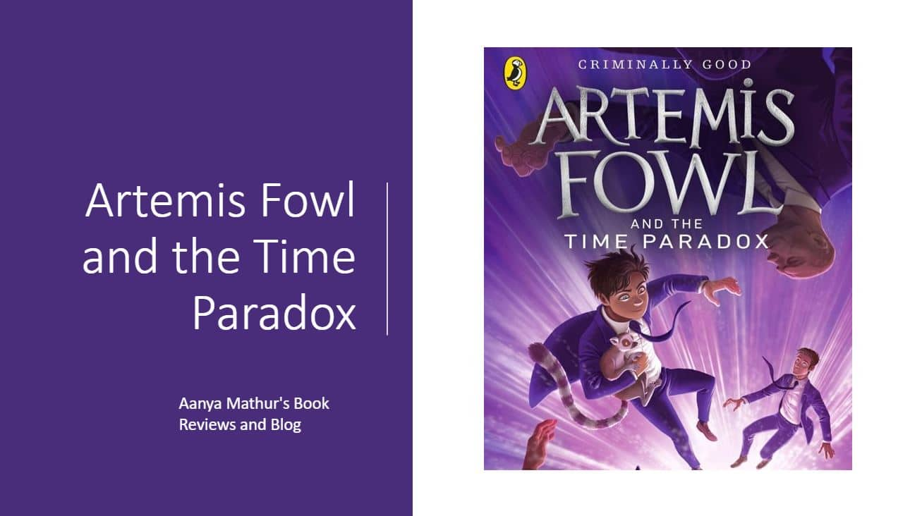 Artemis Fowl and the time paradox