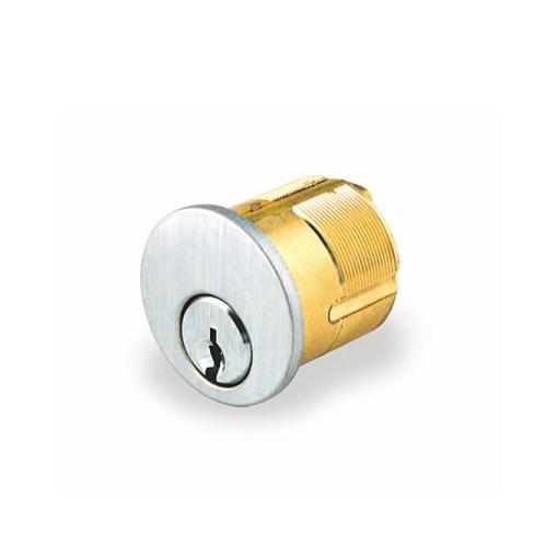 "GMS M100-KW 1"" Mortise Cylinder Kwikset KW1 Keyway"