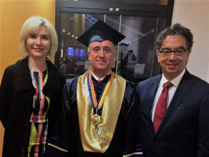 UNAD Awards Honorary Doctorate to Anadolu University Rector Gündogan — Anadolu University