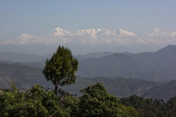 First Himalayan glimpse