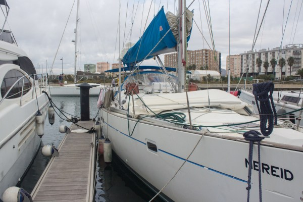 Nereid, our new 'home' for some time