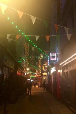 Night life in Dublin