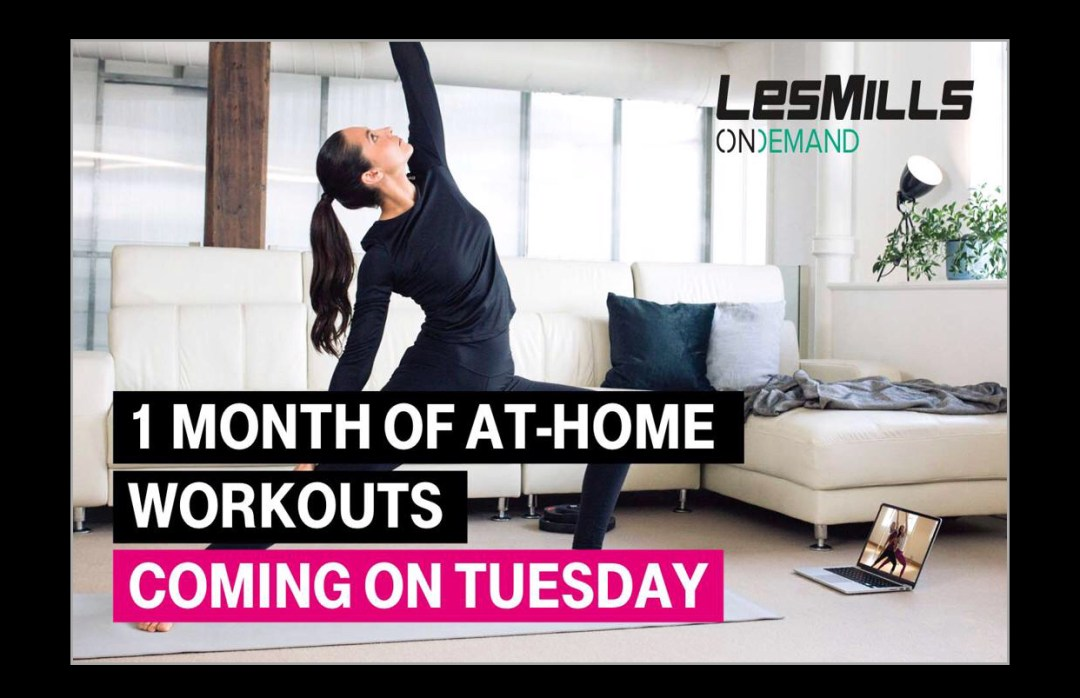 T-Mobile Tuesday LesMills Ondemand