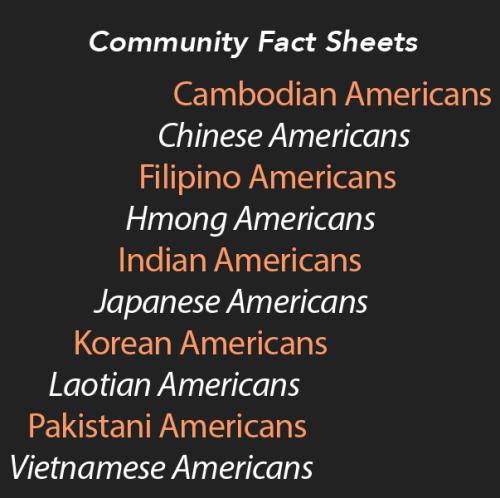 Community Fact Sheets