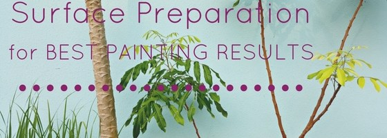 Why is surface preparation important before painting?