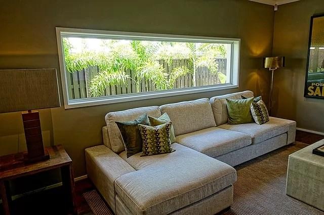 Green Living Room 2