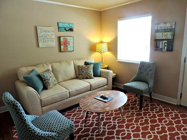 Mustard Color Living room 1