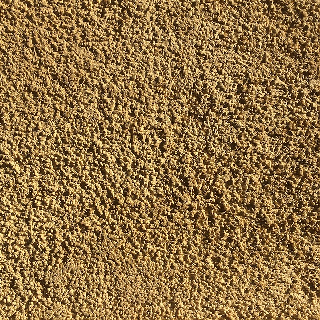 Rough Tan Grit Texture Gritty Wall Stucco Beige