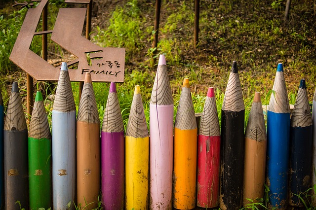 pencil fences