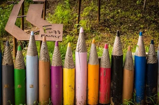 pencil fences