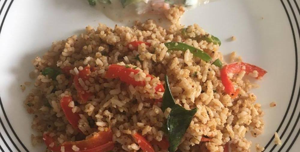 Yummy Capsicum Rice