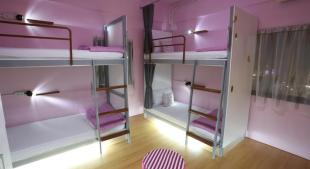 Pink Dormitory for Girls