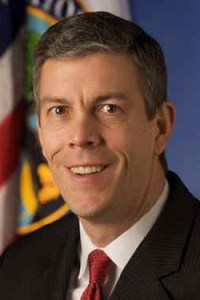 U.S. Sec. of Education Court  Arne Duncan.