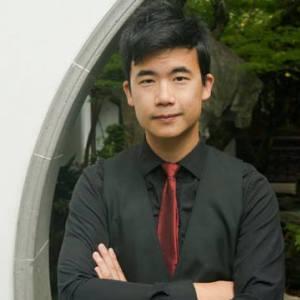 Simon Tam, founder of The Slants, an Asian American rock band.
