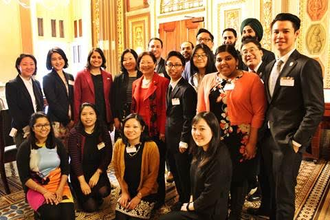 Advocates from the Asian American and Pacific Islander and Muslim communities joined Senator Hirono for the introduction of a resolution commemorating the internment of Japanese Americans.