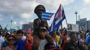 May Day Celebrations in Havana Cuba